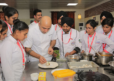Three days culinary master class at GNA University