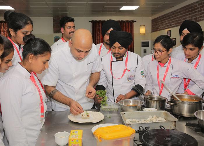 Three days culinary master class at GNA University