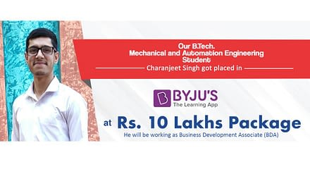 Engineer at GNA University Bags Position at BYJU'S