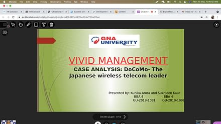 VIVID MANAGEMENT- BUSINESS FEST 2021