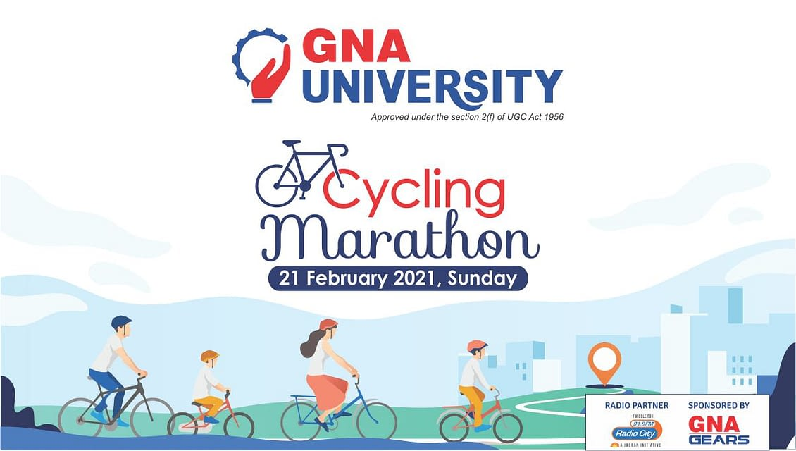 Join Cycling Marathon 2021   GNA University, Punjab
