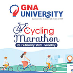 Join Cycling Marathon 2021 | GNA University, Punjab