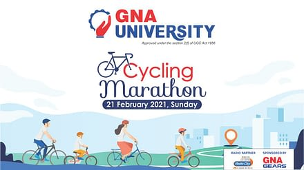 Join Cycling Marathon 2021 | GNA University, Punjab