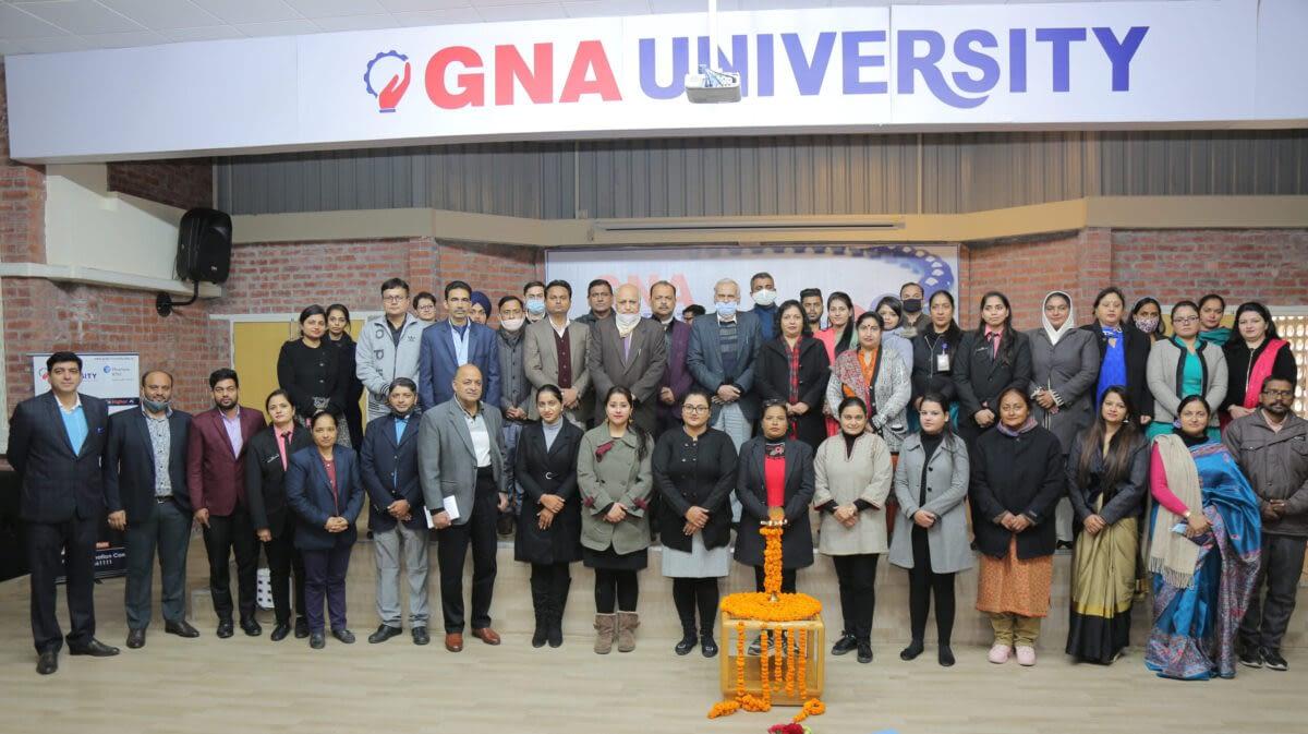 GNA University Holds Prize Distribution of Prativaad
