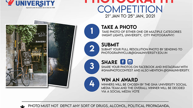 Photography Competition at GNA University