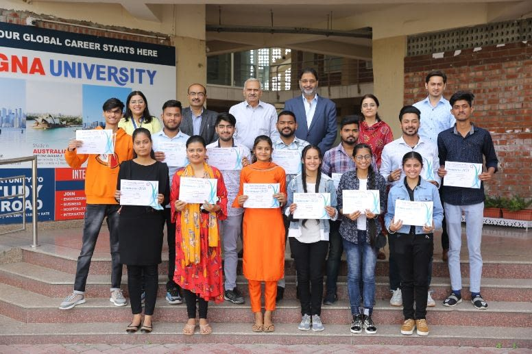 GNA University students won more than 20 Prizes in the Global Media Fest Communis 2021
