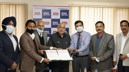 GNA University Signs MOU with Indian Red Cross