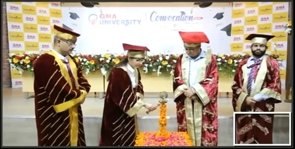 convocation in GNA University