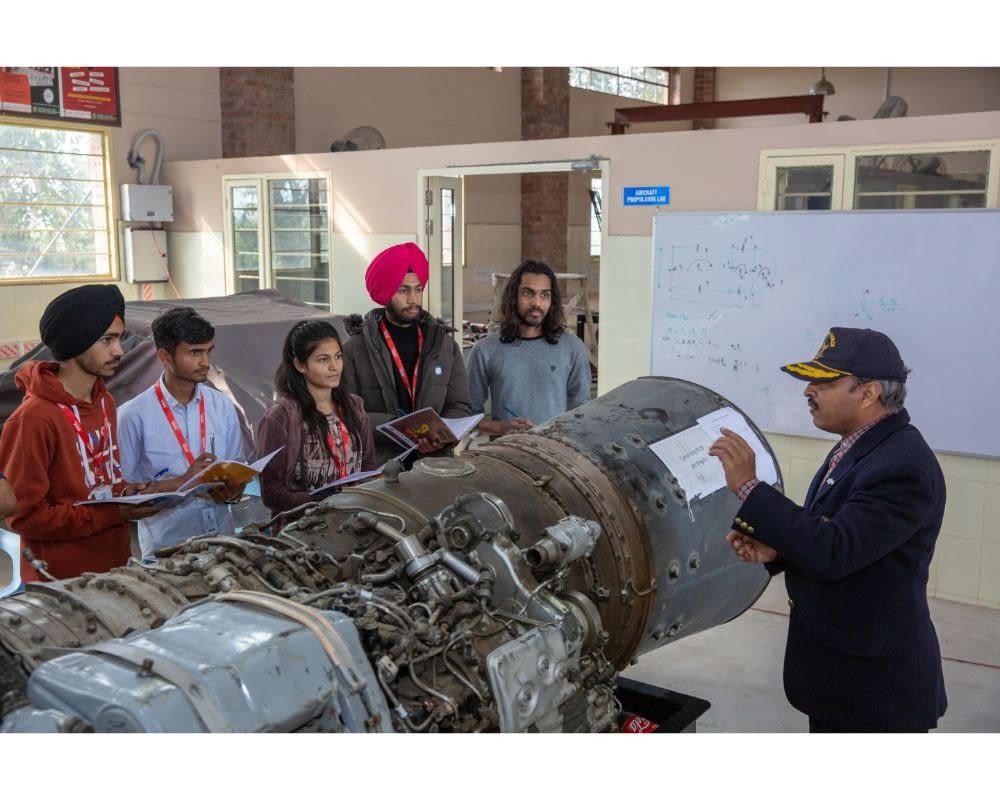Best aerospace engineering college in Punjab