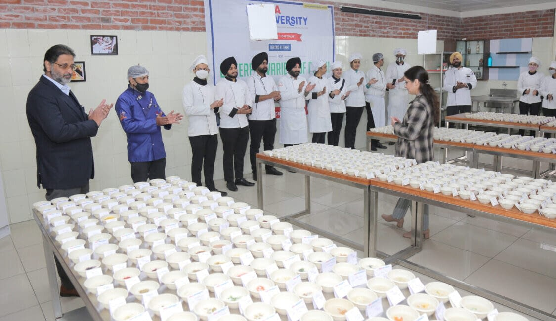 Attempt for Record of Maximum Types of Phirni at GNA University