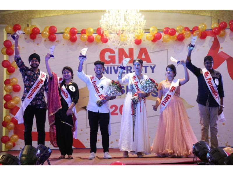 GNA University Offered a Grand Welcome to the Freshers 2019