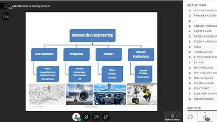 "Webinar on ""Aero Industrial Exposure and Career Opportunities"""