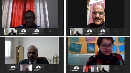 Webinar on Teacher's Role in NEP Implementation at GNA University