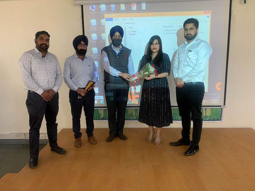 GUEST LECTURE ON PHASES OF ENTREPRENEURSHIP