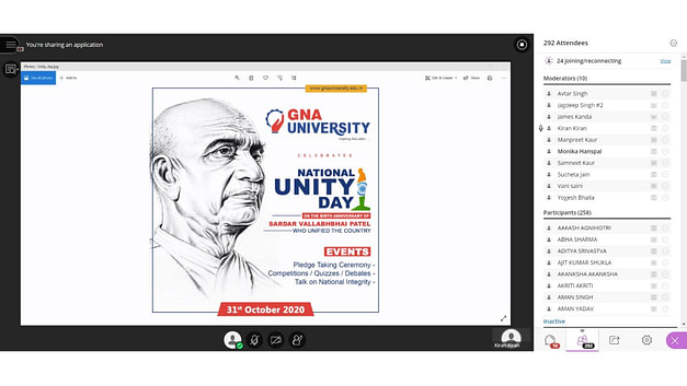 Virtual National Unity Day Celebration