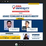 Advance Technologies in 3D and VFX Industry