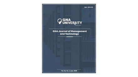 GNA Journal of Management & Technology 2020