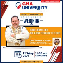 President Worldchefs Delivers Webinar to GNA University's Hospitality Aspirants